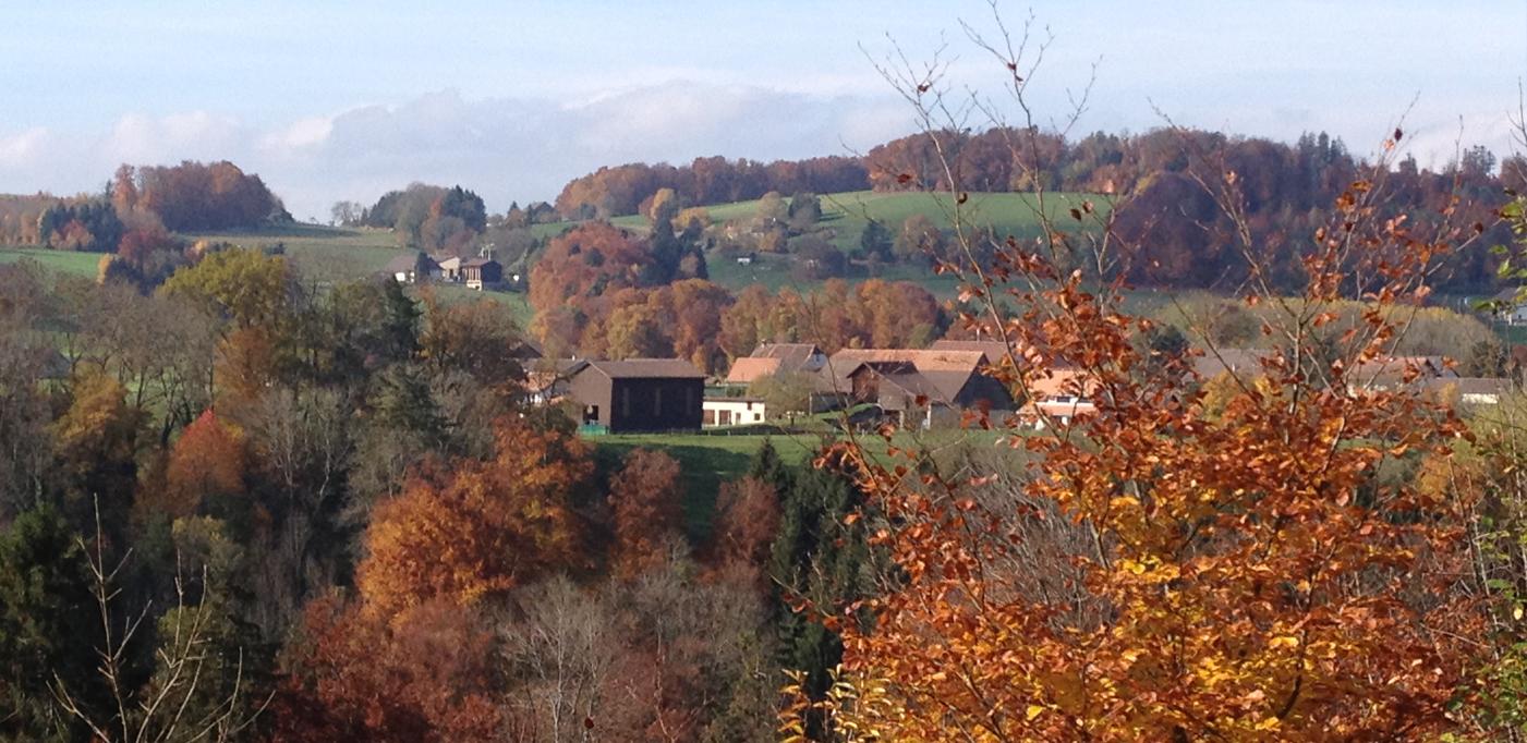 Commune située dans la Broye regroupant plusieurs villagesMontagny